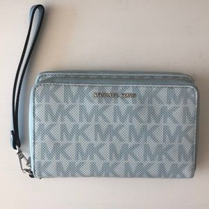Michael Kors new double compartment wallet